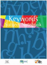 Keyword Subject Notebook