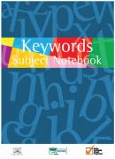 Keyword Subject Notebook
