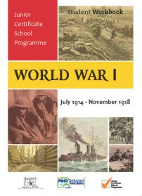 Workbook based around a history project of the First World War