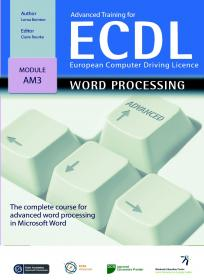 Advanced Training for ECDL Word Processing cover